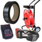 Aparat de legat banda plastic MB620 banda PP + carucior banda + baterie + incarcator