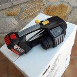 Aparat manual legat banda PP MB820 16-19mm (5/8″ la 3/4″)  banda  PET/PP cu/fara Incarcator si Baterie