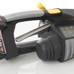 Aparat manual legat banda PP cu baterii Messersi MB620 12-16mm (1/2″ la 5/8″) pentru banda PET/PP cu/fara Incarcator si Baterie