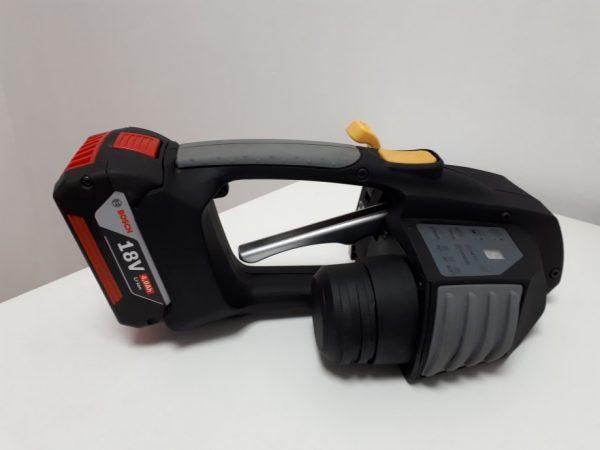 Aparat manual legat banda PP cu baterii Messersi MB620 12-16mm (1/2″ la 5/8″) pentru banda PET si PP cu/fara Baterie si Incarcator