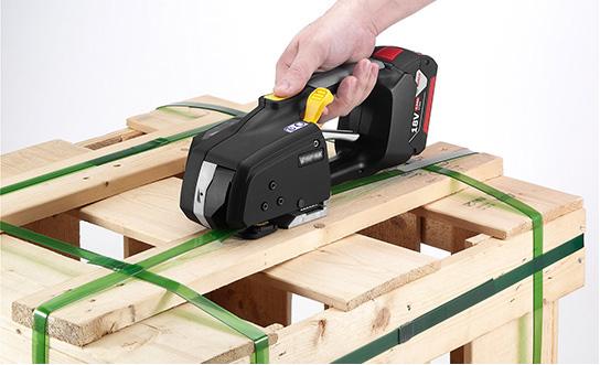 Messersi MB620 12-16mm (1/2″ la 5/8″) aparat manual legat banda PP cu baterii pentru banda PET si PP cu/fara Incarcator si Baterie